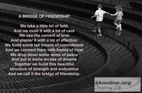 Bridge of friendship