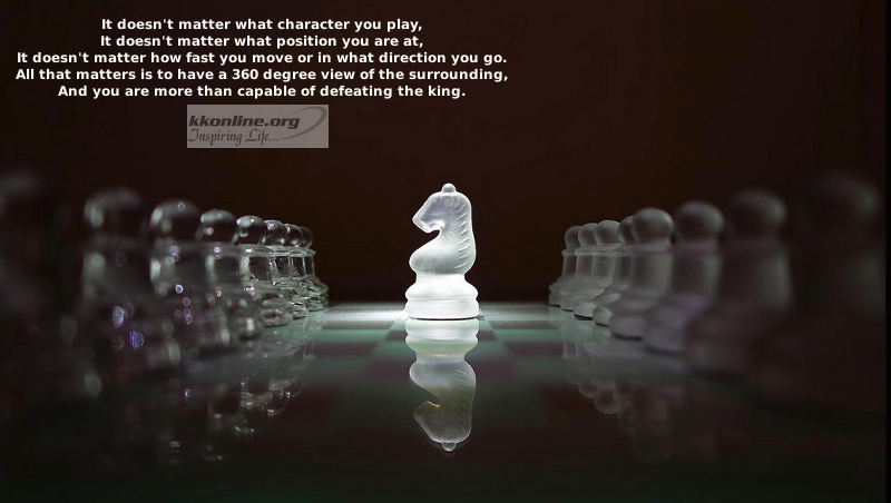 It doesn't matter what character you play
